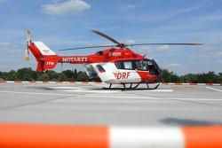 DRF Helikopter am Bergmannsheil Buer