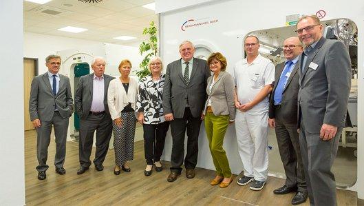 Eröffnung des Zentrums für Hyperbare Sauerstofftherapie durch den Gesundheitsminister NRW Karl-Josef Laumann