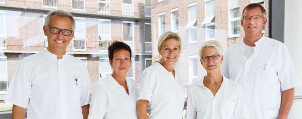 Team Krankenhaushygiene Bergmannsheil Buer