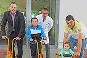Spende der Ranger Foundation e.V . an die Kinder- und Jugendklinik Gelsenkirchen