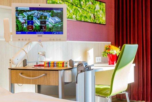 Multimedia auf der Komfortstation Bergmannsglück
