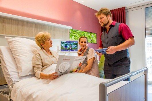 Service auf der Komfortstation Bergmannsglück