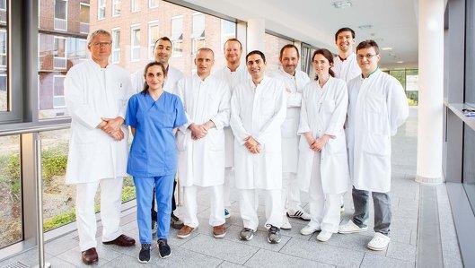 Team der Klinik für Orthopädie und Unfallchirurgie